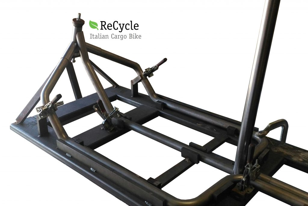 cargo bike welding how to build officine recycle