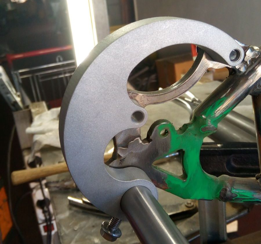 cargo bike disc brakes how to build officine recycle