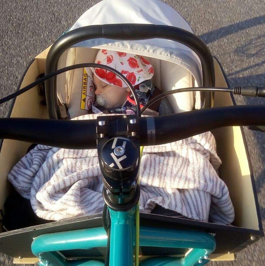 bronte cargo bike kids bimbi viaggiare travelling