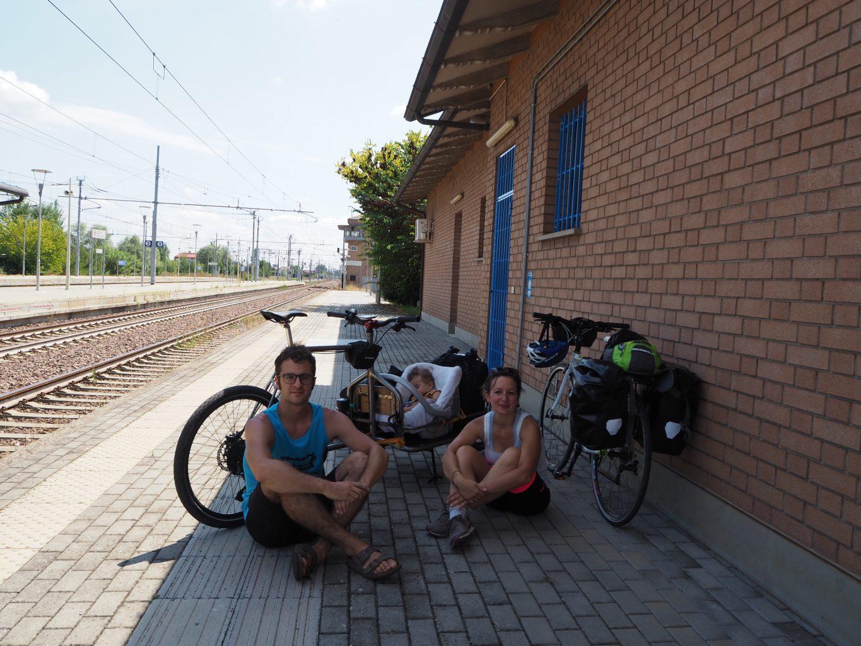 cycling with kids cargo bike trip viaggio bici ciclabile Brenta