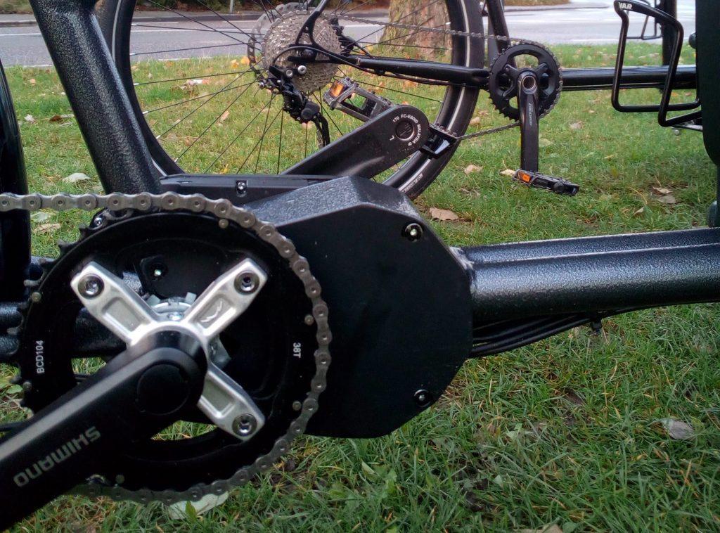 e bronte 250w pedalata assistita mid drive hillraser batteria