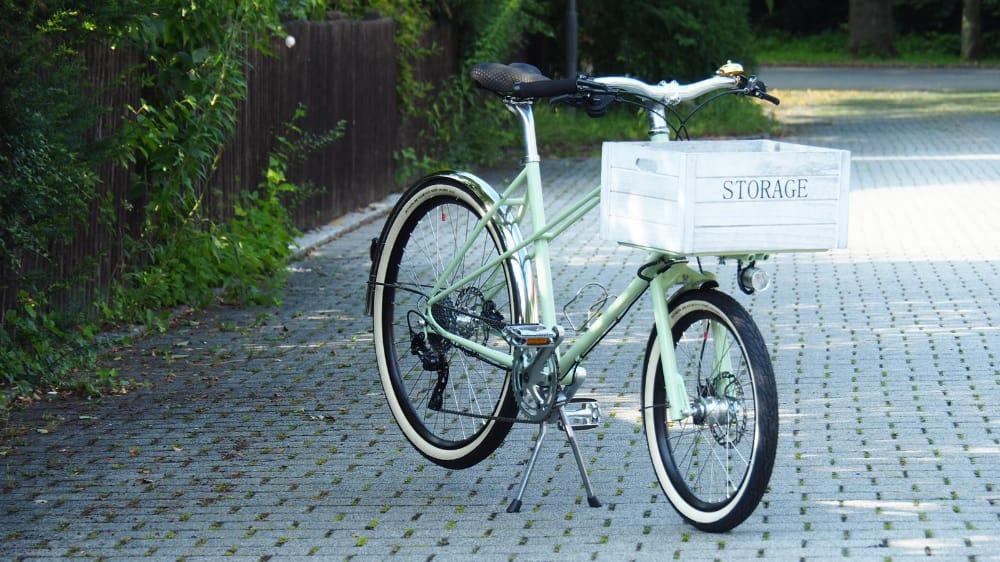 mini cargo bike QB Mixte Roman